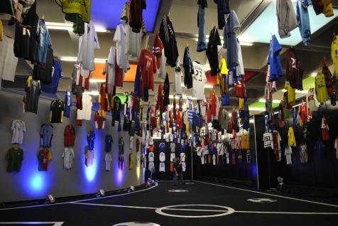 Football shirt museum