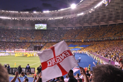 England Vs Sweden - Kiev