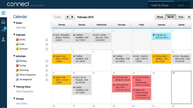 February Training